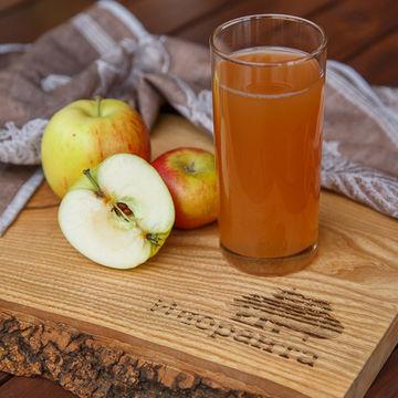 Сок прямого отжима из яблок нового урожая 1 л